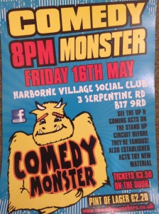 Next Comedy monster show!